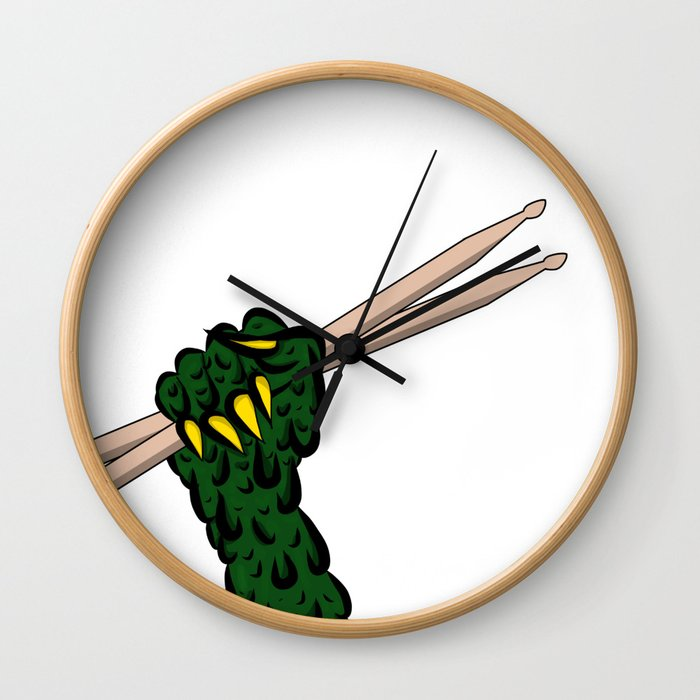 Drum till you Ooze Wall Clock