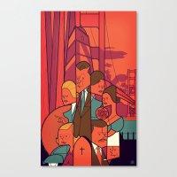vertigo Canvas Prints featuring Vertigo by Ale Giorgini