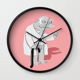 Moleman Centipede 2 Wall Clock