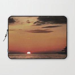 Autumn Evening Sundowner Laptop Sleeve