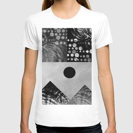 Black and white landscape T-shirt