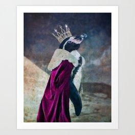 Your Majesty, Parker Penguin Art Print