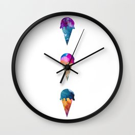 Ice Cream Stack Wall Clock