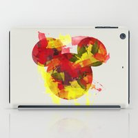 mickey iPad Cases featuring Mickey by hippofactoryprints
