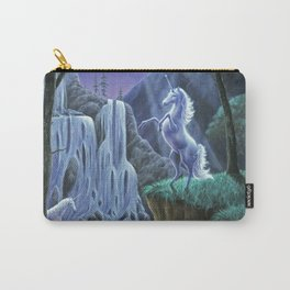 Unicorns in the Moonlight Carry-All Pouch