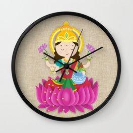 Goddess Laxmi Wall Clock