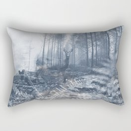 After the fire III Rectangular Pillow