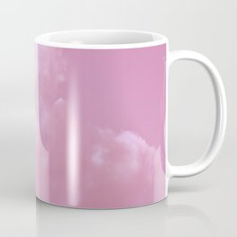 Floating cotton candy with pink Coffee Mug