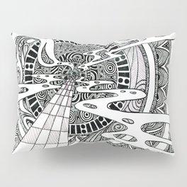 Spiral Portal Pillow Sham