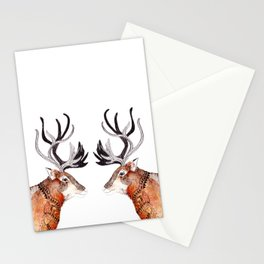 Reindeer  Stationery Cards