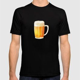 Ice Cold Beer Pattern T-shirt