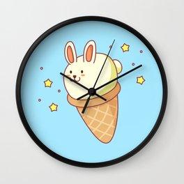Bunny-lla Ice Cream Wall Clock