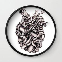 Strangled Heart Wall Clock