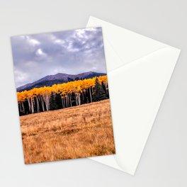 Aspens North of Flagstaff Arizona - Humphreys Peak Stationery Cards