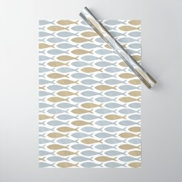 shoal of herring Wrapping Paper