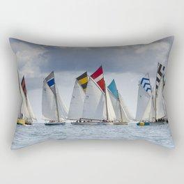Falmouth Working Boats Rectangular Pillow