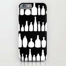 Bottles Black and White iPhone 6s Slim Case