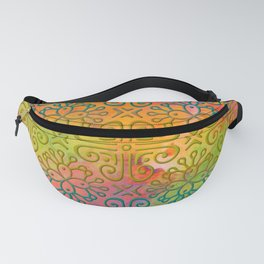 DP050-6 Colorful Moroccan pattern Fanny Pack