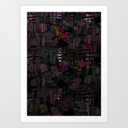Urbanist Art Print