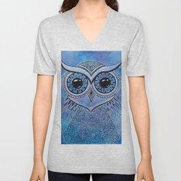Owl 156 Unisex V-Neck