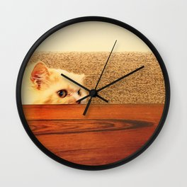 Soft and Warm Wall Clock