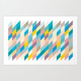 Paralolograms Art Print