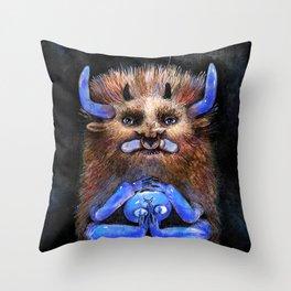 Dream monster Throw Pillow