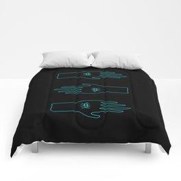 Three Hands  Comforters