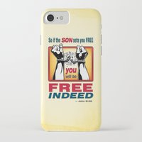 aelwen iPhone & iPod Cases featuring FREE INDEED! by Peter Gross