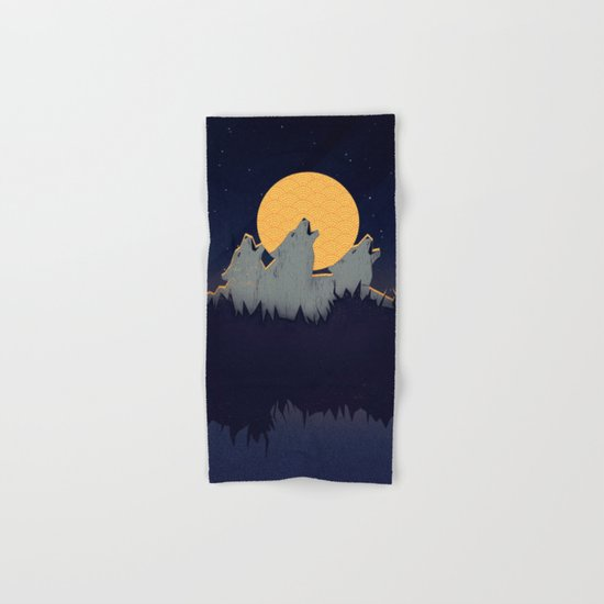 Midnight Sound Hand & Bath Towel