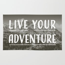 Live Your Adventure Rug