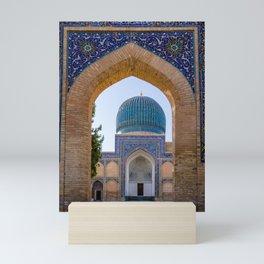Gur-e Amir mausoleum of Timur - Samarkand, Uzbekistan Mini Art Print