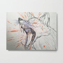 Screaming in Motion Metal Print