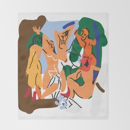 Picasso Throw Blanket