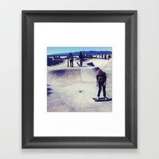 Z-Boys Framed Art Print