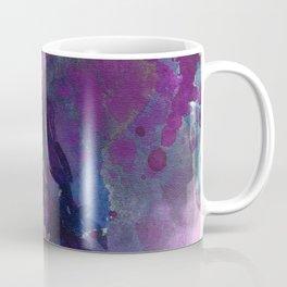 Purple Flower Edited Watercolor Coffee Mug