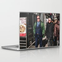 pasta Laptop & iPad Skins featuring Pasta Day by Josh Ethan Johnson