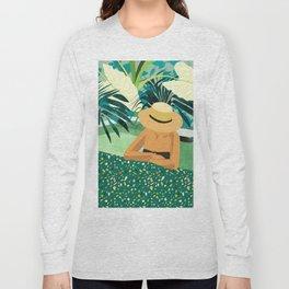 Chill #illustration #travel Long Sleeve T-shirt