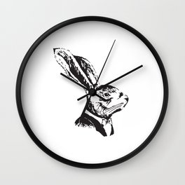 Mr. Rabbit Wall Clock