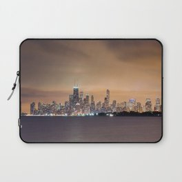 Chicago from Montrose Harbor Laptop Sleeve