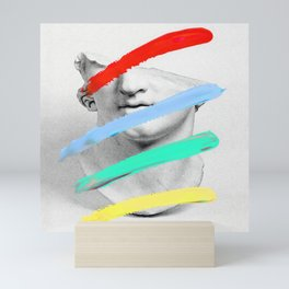 Composition 719 Mini Art Print