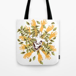 more hands for more coffee Tote Bag