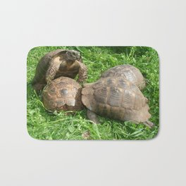 Bullied into Submission - Mating Tortoises Bath Mat