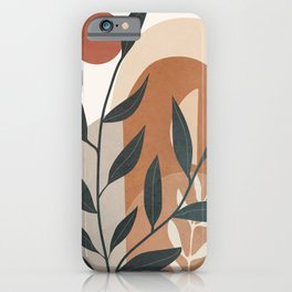 Branches Design 03 iPhone Case