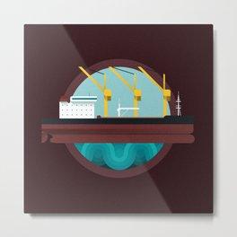 Oil Tanker Metal Print