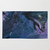celestial Area & Throw Rugs featuring Celestial by BevyArt