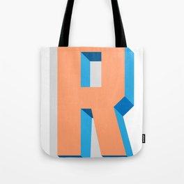 Letter R Tote Bag