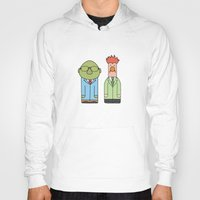 muppets Hoodies featuring Bunsen & Beaker – The Muppets by Big Purple Glasses