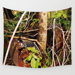 Nature's Reclaiming 2 Wall Tapestry