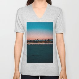 Santa Barbara, USA #society6 #decor #buyart Unisex V-Neck